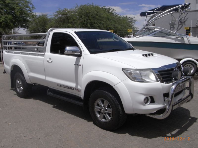 Used Toyota HILUX 3.0D4D S/CAB 4X2 LEGEND 45  for sale in Windhoek, Namibia